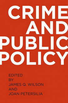 Crime and Public Policy (Heftet)