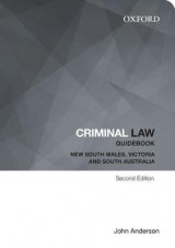 Omslag - Criminal Law Guidebook