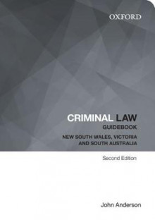 Criminal Law Guidebook av John Anderson (Heftet)