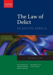 The Law of Delict in South Africa av Max Loubser, Rob Midgley, Andre Mukheibir, Liezel Niesing og Devina Perumal (Heftet)