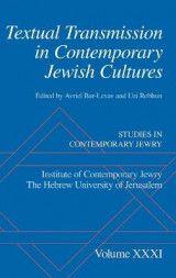 Omslag - Textual Transmission in Contemporary Jewish Cultures