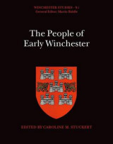 Omslag - The People of Early Winchester