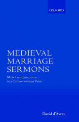 Omslag - Medieval Marriage Sermons