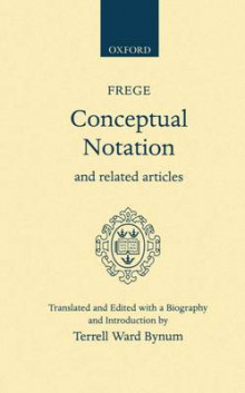 Conceptual Notation and Related Articles av Gottlob Frege (Innbundet)