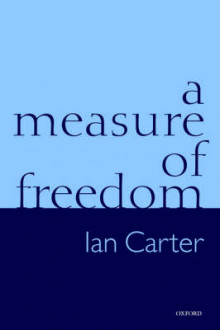 A Measure of Freedom av Ian Carter (Innbundet)