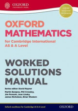 Omslag - Oxford Mathematics for Cambridge International AS & A Level Worked Solutions Manual CD