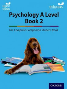 Complete Companions: Year 2 Student Book for Eduqas and WJEC A Level Psychology av Cara Flanagan, Katherine Cox, Lucy Hartnoll, Jenny Hill, Rob Liddle og Rhiannon Murray (Heftet)