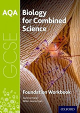 Omslag - AQA GCSE Biology for Combined Science (Trilogy) Workbook: Foundation: Foundation