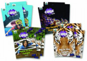 Project X CODE Extra: Green Book Band, Oxford Level 5: Jungle Trail and Shark Dive, Class pack of 12 av Janice Pimm, Jillian Powell og Kate Scott (Samlepakke)