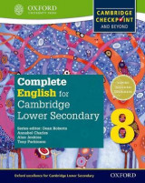 Omslag - Complete English for Cambridge Secondary 1: Student Book 8