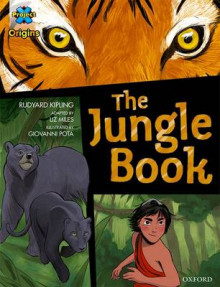 Project X Origins Graphic Texts: Dark Blue Book Band, Oxford Level 15: The Jungle Book av Rudyard Kipling og Liz Miles (Heftet)