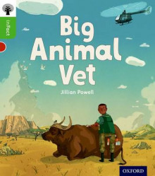 Oxford Reading Tree Infact: Oxford Level 2: Big Animal Vet av Jillian Powell (Heftet)