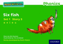 Read Write Inc. Phonics: Green Set 1 Storybook 3 Six Fish av Gill Munton (Heftet)