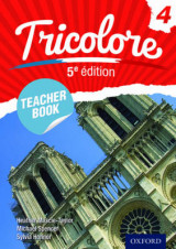 Omslag - Tricolore: Teacher Book 4