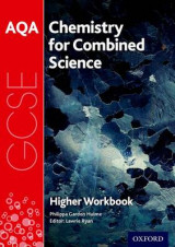 Omslag - AQA GCSE Chemistry for Combined Science (Trilogy) Workbook: Higher