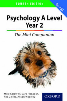The Complete Companions for AQA: A Level Year 2 Psychology: The Mini Companion av Mike Cardwell, Rosalind Geillis, Rachel Moody og Alison Wadeley (Heftet)