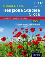 Omslag - Oxford A Level Religious Studies for OCR: Year 2 Student Book