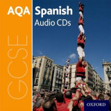 Omslag - AQA GCSE Spanish: Audio CD Pack