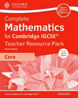 Omslag - Complete Mathematics for Cambridge IGCSE (R) Teacher Resource Pack & CD (Core)