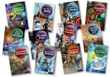 Project X Alien Adventures: Grey Book Band, Oxford Levels 12-14: Grey Book Band Mixed Pack of 12 av Tony Bradman, Elen Caldecott, Steve Cole, James Noble, Janice Pimm, Jacqueline Rayner, Justin Richards og Mike Tucker (Samlepakke)