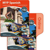 Omslag - MYP Spanish Language Acquisition Phases 1&2 Print and Online Pack