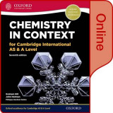 Omslag - Chemistry in Context for Cambridge International AS & A Level
