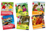 Omslag - Oxford Reading Tree Explore with Biff, Chip and Kipper: Oxford Level 4: Mixed Pack of 6