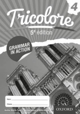 Omslag - Tricolore: Grammar in Action 4