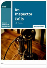 Omslag - Oxford Literature Companions: An Inspector Calls Workbook