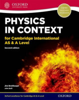 Omslag - Physics in Context for Cambridge International AS & A Level Student Book
