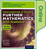 Omslag - International A Level Further Mathematics for Oxford International AQA Examinations: With Statistics