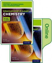 Oxford International AQA Examinations: International A Level Chemistry: Print and Online Textbook Pack av Ted Lister og Janet Renshaw (Blandet mediaprodukt)