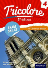 Omslag - Tricolore 5e edition: Exam Skills for Cambridge IGCSE (R) Workbook & CD-ROM