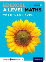 Omslag - Edexcel A Level Maths: Year 1 / AS Student Book