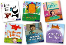 Oxford Reading Tree Story Sparks: Oxford Level 1+: Mixed Pack of 6 av Michelle Robinson, Teresa Heapy, Becca Heddle, Cheryl Palin, Narinder Dhami og Juliet Clare Bell (Samlepakke)