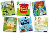 Oxford Reading Tree Story Sparks: Oxford Level 2: Mixed Pack of 6 av Catherine Baker, Narinder Dhami, Liz Miles, Paul Shipton og Jeanne Willis (Samlepakke)