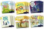 Oxford Reading Tree Story Sparks: Oxford Level 5: Class Pack of 36 av Narinder Dhami, Timothy Knapman, Abie Longstaff, Joanna Nadin, Simon Puttock og Jamie Smart (Samlepakke)