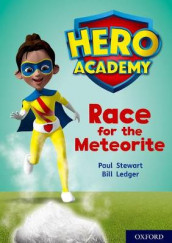 Hero Academy: Oxford Level 12, Lime+ Book Band: Race for the Meteorite av Paul Stewart (Heftet)