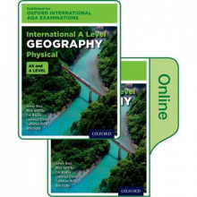 Oxford International AQA Examinations: International A Level Physical Geography: Print and Online Textbook Pack av Simon Ross, Alice Griffiths, Lawrence Collins, Tim Bayliss, Catherine Hurst, Bob Digby og Andy Slater (Blandet mediaprodukt)