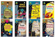 Oxford Reading Tree TreeTops Chucklers: Oxford Levels 18-20: Pack of 9 av Jeanne Willis, Maureen Haselhurst, Emma Barnes, Catherine Baker, Adele Geras, Gareth Jones, Sally Prue og Timothy Knapman (Samlepakke)