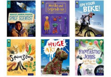 Oxford Reading Tree TreeTops inFact: Oxford Levels 16-17: Pack of 6 av Jo Nelson, James Driver, Dhruv Baker, Jon Mayhew, Adrian Bradbury og Isabel Thomas (Samlepakke)