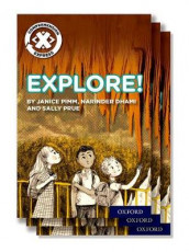 Project X Comprehension Express: Stage 1: Explore! Pack of 15 av Narinder Dhami, Janice Pimm og Sally Prue (Samlepakke)