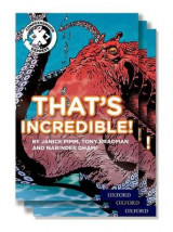 Omslag - Project X Comprehension Express: Stage 1: That's Incredible! Pack of 6