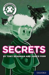 Project X Comprehension Express: Stage 2: Secrets av Tony Bradman og Janice Pimm (Heftet)
