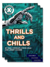 Project X Comprehension Express: Stage 3: Thrills and Chills Pack of 15 av Steve Cole, Paul Stewart og Jonny Zucker (Samlepakke)