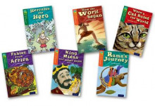 Oxford Reading Tree TreeTops Myths and Legends: Levels 12 and 13: Pack of 6 av Timothy Knapman, Elizabeth Laird, Michaela Morgan, Fiona MacDonald, Brian Gray og Narinder Dhami (Samlepakke)