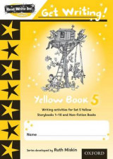 Omslag - Read Write Inc. Phonics: Get Writing!: Yellow 5 Pack of 10