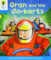 Oxford Reading Tree: Level 3: Decode and Develop: Gran and the Go-karts av Roderick Hunt og Annemarie Young (Heftet)