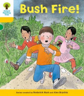 Oxford Reading Tree: Level 5: Decode and Develop Bushfire! av Alex Brychta, Rod Hunt og Annemarie Young (Heftet)