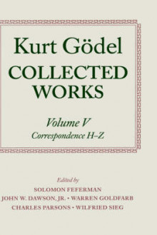 Kurt Godel: Collected Works: Volume V av Kurt Godel (Innbundet)